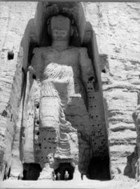 Bamiyan before complete destruction